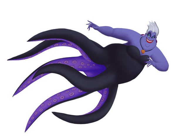 Disney Ursula from The Little Mermaid