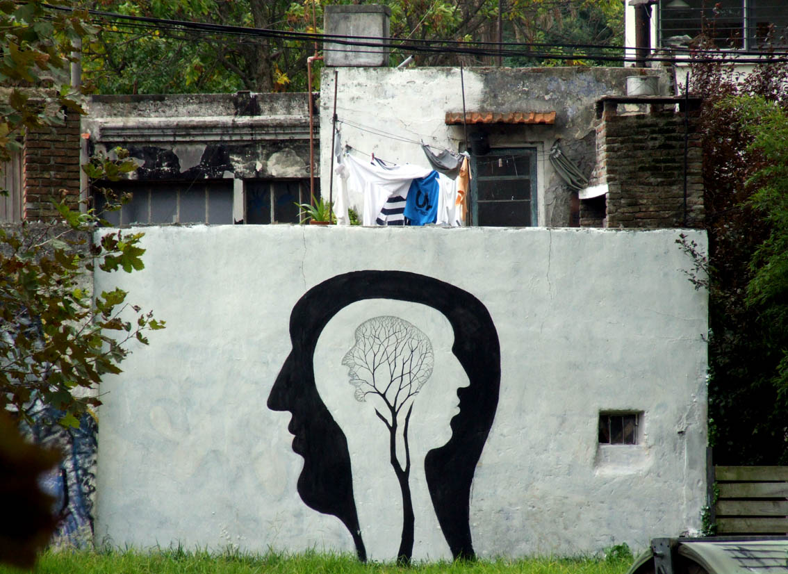 Roots in the Head Graffiti
