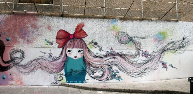 Long Hair Graffiti
