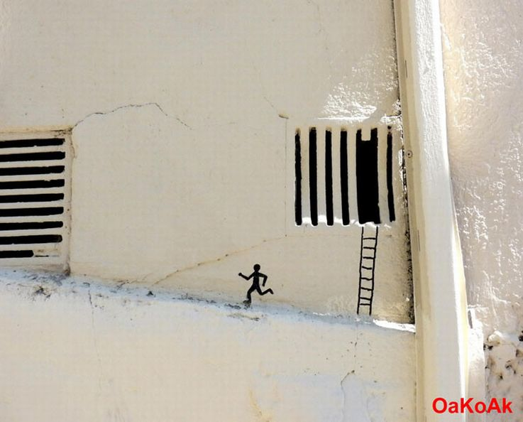 Prison Break Graffiti